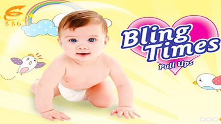 Bling times baby pants diaper